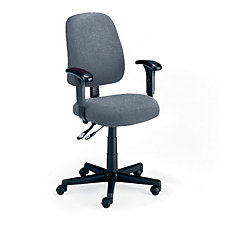 Fabric Mid-Back Ergonomic Chair, CH00448