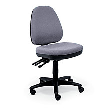 Fabric Armless Ergonomic Chair, CH01745