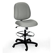Heavy Duty Armless Drafting Chair, CH02078