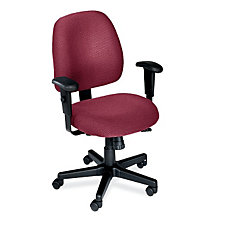4 x 4 Series Fabric Mid-Back Ergonomic Chair, CH00581