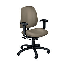 Goal Fabric Mid-Back Ergonomic Chair, CH01775