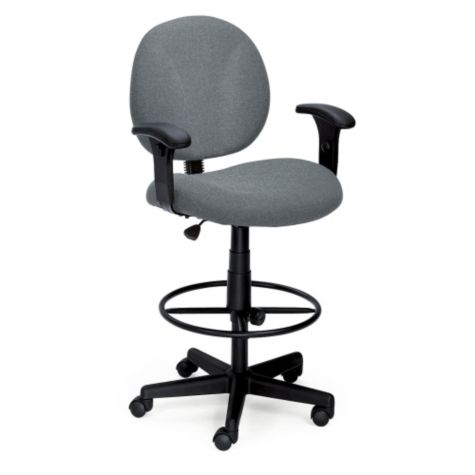 Drafting Stool With Arms CH01792 And Other All Office Chairs