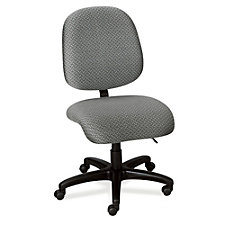Multi Shift Mid Back Armless 24 Hour Ergonomic Chair, CH04482
