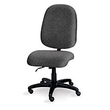 Valiant Big and Tall Armless Ergonomic Chair, CH04483