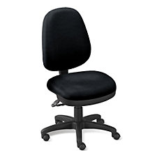 Workmate Armless High Back Ergonomic Chair, CH01798