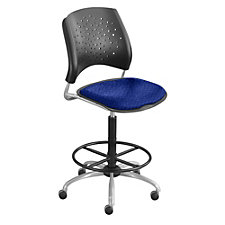 Stars Armless Drafting Stool, CH03879