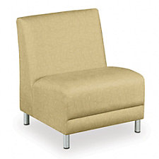 Oversized Armless Chair - Designer Upholstery, CH04202