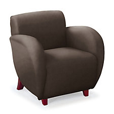 Curve Anti-Microbial Vinyl Club Chair, CH04674