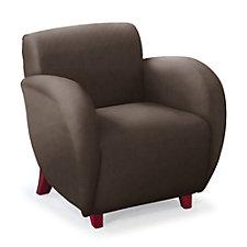 Curve Anti-Microbial Vinyl Club Chair, CH04674