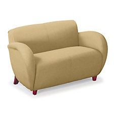 Curve Anti-Microbial Vinyl Loveseat, CH04672
