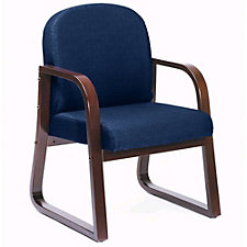 Sled Base Wood Reception Chair, CH00238