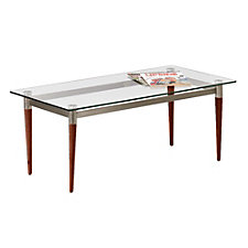 Glass Freestanding Coffee Table, CH04028