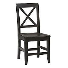 Anna Cross Back Dining Chair in Solid Wood, CH51813