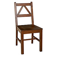 Titan Triangle Back Dining Chair with Wood Frame, CH51814