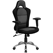 Roosevelt Mesh Fabric Computer Chair with Headrest, CH51287