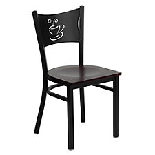 Jackson Wood Seat Coffee Back Design Cafe Chair , CH51484