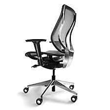 You Mesh High Back Computer Chair with Aluminum Base, CH50707