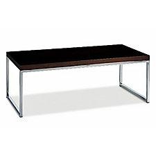 "44"" x 22"" Wall Street Wood Veneer Coffee Table, CH03535"