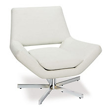 Modern Vinyl Swivel Chair, CH04308