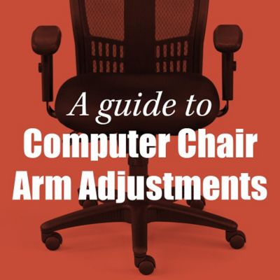 A Guide to Office Chair Armrest Adjustments