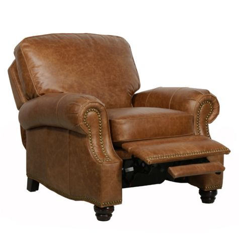 Longhorn Ii Leather Recliner From Barcalounger