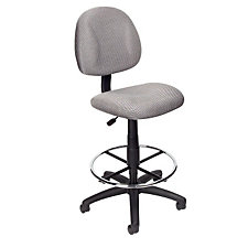 Armless Drafting Stool with Footring, CH04822