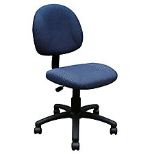 Armless Fabric Task Chair, CH02608
