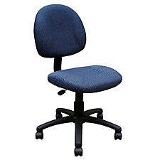 Armless Fabric Task Chair, CH02608