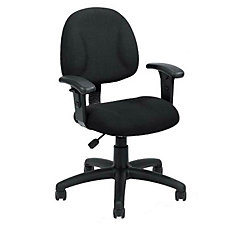 Task Chair with Adjustable Arms, CH02609