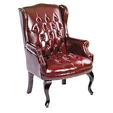 Traditional Style Wing Back Guest Chair, CH00189