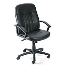 Littleton Bonded Leather Mid-Back Computer Chair, CH02967