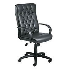 Hawking Bonded Leather Tufted Back Executive Chair, CH00198