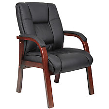 Guest Chair with Wood Frame, CH04850