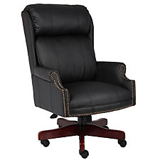 Widmore Traditional Vinyl Judges Chair, CH04810