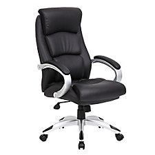 Plata Faux Leather Modern Executive Chair, CH50912