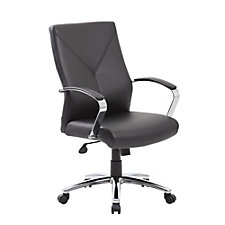 Whitwick Bonded Leather Conference Chair, CH51222
