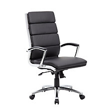 Crofton Faux Leather Conference Chair, CH51236
