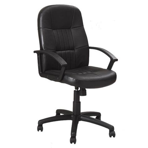 Executive Bonded Leather Conference Chair