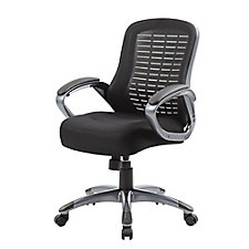 Mesh Ribbed Back Task Chair with Loop Arms, CH51681