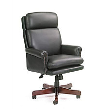 Bonded Leather Traditional High Back Executive Chair, CH03409