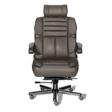 Pacifica Vinyl 24/7 Big and Tall Chair with Headrest, CH50774
