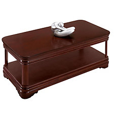 Rue de Lyon Traditional Veneer Coffee Table, CH50256