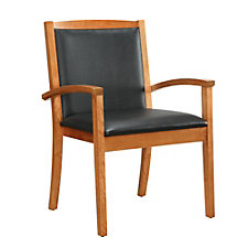 Bently Faux Leather Guest Chair, CH50796