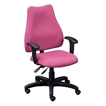 Fabric High Back Ergonomic Chair, E76882V/A1050XL