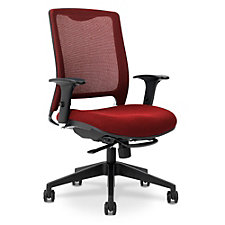 Executive Knit Fabric Back Ergonomic Chair with Seat Slider, CH50677