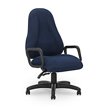 Atlas Fabric Task Chair with Loop Arms, CH50822