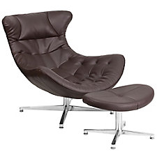 Cocoon Lounge Chair with Ottoman, CH51785