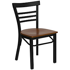 Jackson Wood Seat Ladder Back Cafe Chair, CH51476