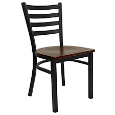 Jackson Wood Seat Slat Back Cafe Chair , CH51478