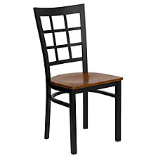 Jackson Wood Seat Window Back Cafe Chair , CH51492